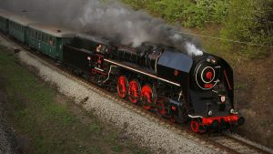 Steam locomotive 475.179 #1 by DusanPavlicek