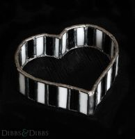 Stained Glass Heart TrinketBox by DIBBSandDIBBS