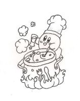 Cook Kirby by citreneowl