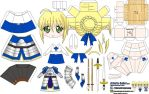 Arturia Saber (Joey's Chibi Girls 018) by ELJOEYDESIGNS