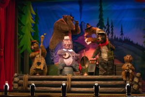 The Country Bears Bear Band by shaderf