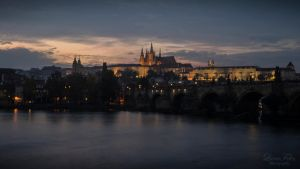 evening in Praha by LunaFeles