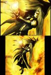 sephiroth's fire by kika1983