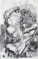 Storm Shadow VS. Snake Eyes by jey2dworld
