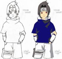 Sasuke by forgottenvic