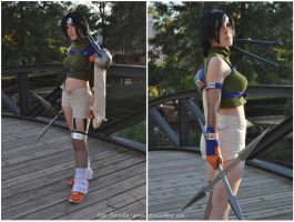Yuffie FFVII by Yurai-cosplay