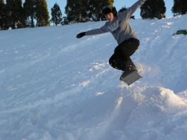 Snowboarding 1 by Kuot