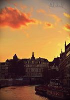 Amsterdam sunset by ad-shor