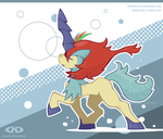 Keldeo Trot On by DoNotDelete