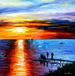 FISHING WITH FRIENDS by Leonidafremov
