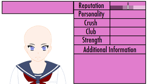 Yandere Simulator Profile Base by Scarmmetry