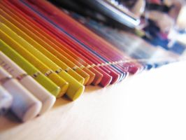 Colored Pencils by elooly