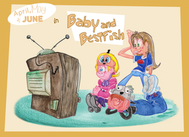 Baby and BestFish title card by Granitoons