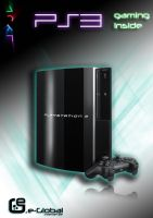 playstation 3 ad by tEo27