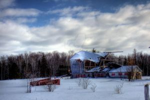 HDR Old Shack by Nebey
