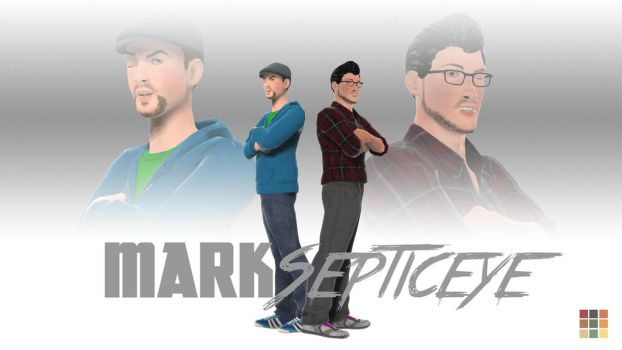 Marksepticeye and LIVESTREAM by AnaMadeIt