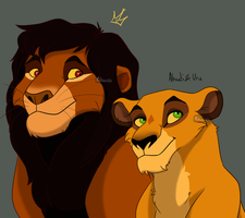 King And Queen by Mikaces