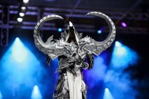 Malthael, the reaper of soul made by...a girl xD by SakuraFlamme