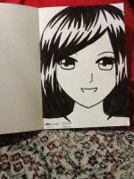 portrait of my cousin by AzuAcaa