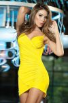 Yellow Minidress by PrettyPrincessJane