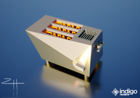 Toaster from the Future (Low Poly 3d Model) by NotActuallyBFG