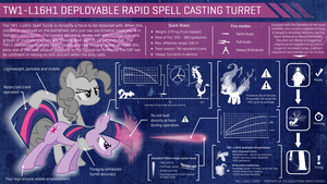 EAF - Weaponised Twilight (TW1-L16H1 Turret) by smokeybacon