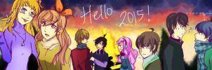 Hello 2015! by AKreiko