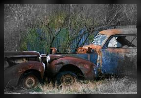 rusting cars-Pepelepewissexier by Jessie-Jo