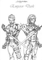 Deus Ex Vs MGS Rising by DarkEmperor00