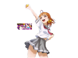 Render #6 Chika Love live Sunshine! by Natsuko-Ai2k2