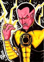 PSC: Sinestro by G-double