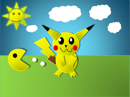 Powerpoint Pikachu by Quacksquared