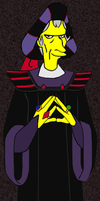 Frollo Simpsons-Style by Club-PriestFetish