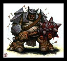 Armored Attack Troll by VegasMike