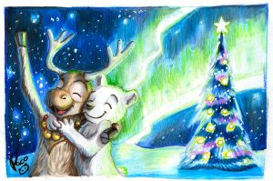 Christmas wishes by pandapaco
