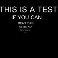 THIS IS A TEST. by kogalover97