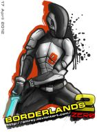 Zer0 Borderlands 2 by Amrey