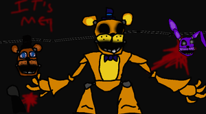 my first Golden Freddy by TheUltimateSpiderFan