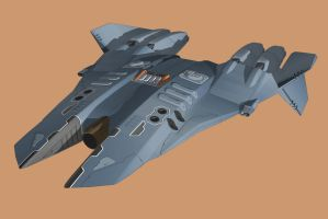 Tactical Battle Drone update by Scifiwarships