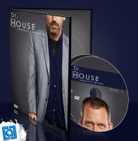 dr. house dvd cover design by keyotz08