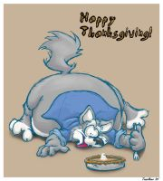 Thanksgiving fattyfatfatfat by teaselbone