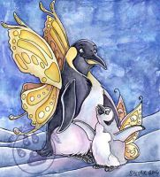 Penguin Fairy by lady-cybercat