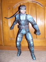 Solid Snake Papercraft by bratchny