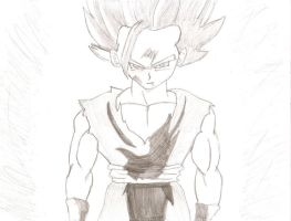 Gohan is Unleashed by Lyndsey-Catastrphe