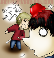 MERTHUR SKRIBBLE by jael-b