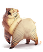 Day 558. Nanook by Cryptid-Creations