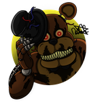 Nightmare Freddy by DemiSaurusRex