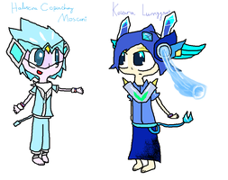 Haliscina Copinchiny Mosconi and Kovana Lunnyysvet by Uxie126