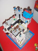 Lego castle 5 by BevisMusson