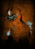 Paint Splatter Dead Space by PhantomxLord
